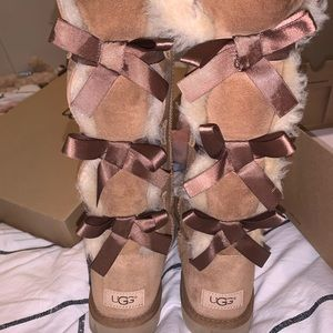 UGG tall bailey bow boots